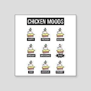 Chicken Moods Sticker