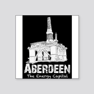 "Aberdeen - the Energy Capital Square Sticker 3"" x"