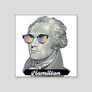 Hamilton with Shades Sticker