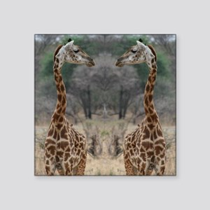 "thonggiraffe Square Sticker 3"" x 3"""