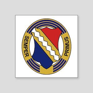 "1st Infantry Regiment Square Sticker 3"" x 3"""