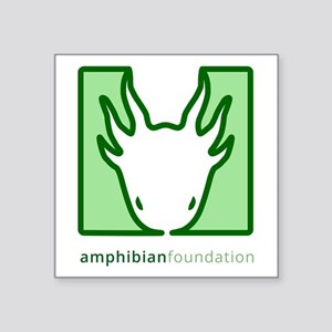 Amphibian Foundation Green Square Logo Sticker