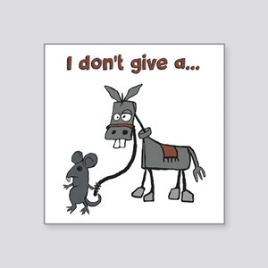I don't give a... Sticker