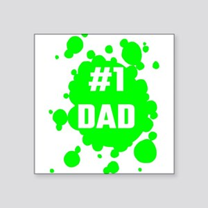 Number One Dad Sticker