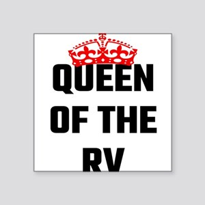 Queen Of The RV Sticker