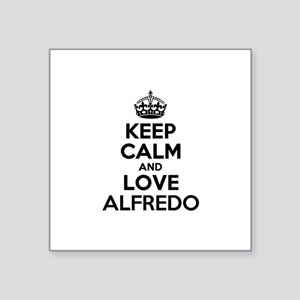 Keep Calm and Love ALFREDO Sticker