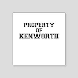 Property of KENWORTH Sticker