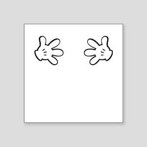 Mickey hands Sticker