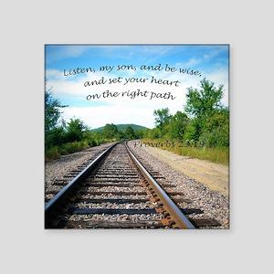 Proverbs 23:19 Sticker
