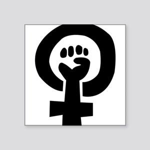 femhandblack Sticker