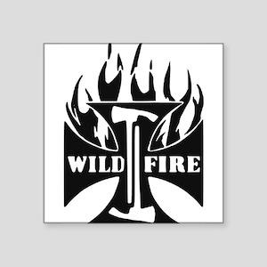 WildFire Iron Cross Pulaski Sticker