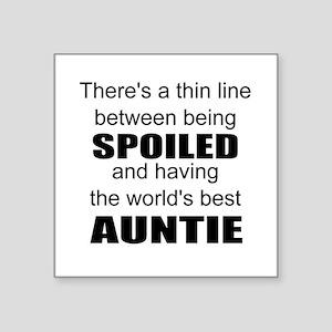 Funny auntie Sticker