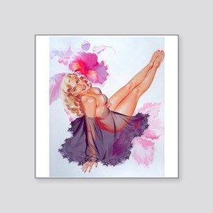 pinup Sticker