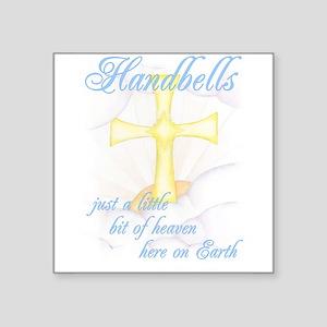 "Little Bit of Heaven Square Sticker 3"" x 3"""