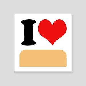 """I heart twinkies Square Sticker 3"""" x 3"""""""