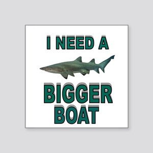 BIGGER BOAT Sticker