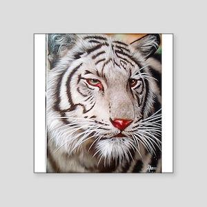 Tiger-white Sticker