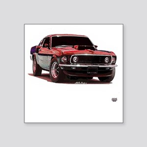 Mustang 1969 Square Sticker