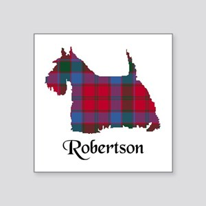 "Terrier-Robertson Square Sticker 3"" x 3"""