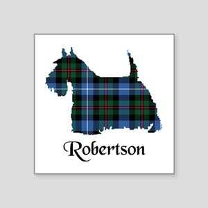 """Terrier-Robertson hunting Square Sticker 3"""" x 3"""""""