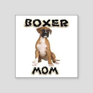 Boxer Mom Sticker