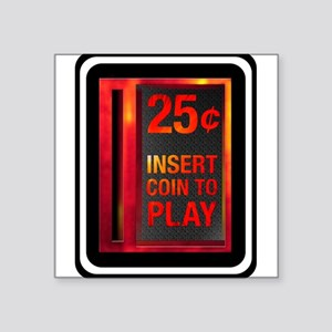 INSERT COIN TO PLAY Sticker