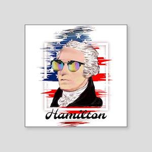 Alexander Hamilton in Color Sticker