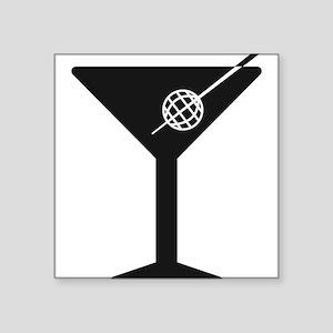 Drunken Geographer Logo DARK Sticker