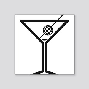 Drunken Geographer Empty Sticker