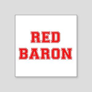 RED BARON. Sticker