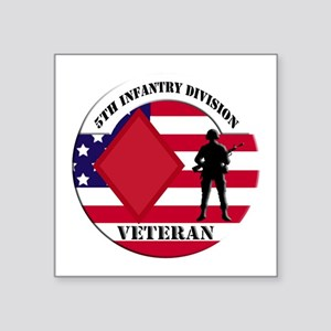 5th Infantry Division Veteran Sticker