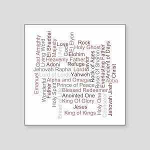 Names Of God Sticker