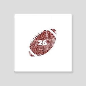 26th Anniversary Football Twenty Sixth Sea Sticker