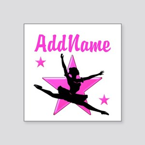 "DANCE SUPER STAR Square Sticker 3"" x 3"""