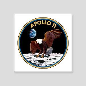 """Apollo 11 Insignia Square Sticker 3"""" x 3"""""""