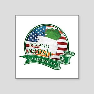 Proud Irish American Sticker
