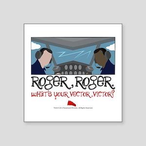 rogerroger Sticker