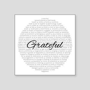 Grateful For... Sticker