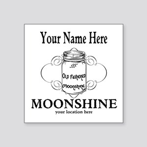Homemade Moonshine Sticker
