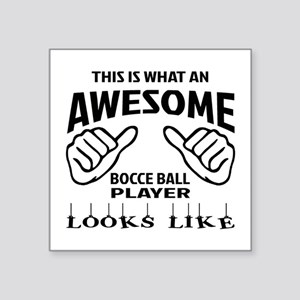 """This is what an awesome Boc Square Sticker 3"""" x 3"""""""