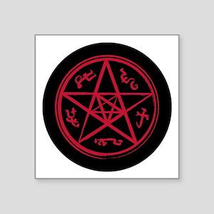 "Supernatural Devil's Trap Square Sticker 3"" x 3"""