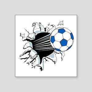 "Breakthrough Soccer Ball Square Sticker 3"" x 3"""