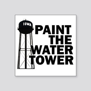 "watertower Square Sticker 3"" x 3"""