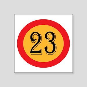 Number 23 Sticker
