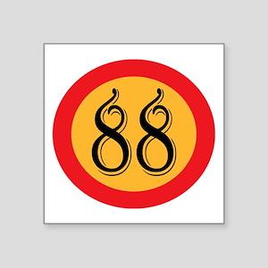 Number 88 Sticker