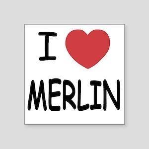 "MERLIN01 Square Sticker 3"" x 3"""