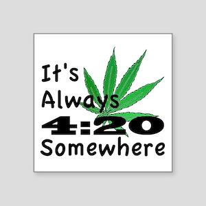 """420 Square Sticker 3"""" x 3"""""""