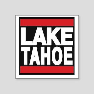 lake tahoe red Sticker