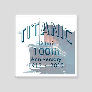 """Titanic-3 Square Sticker 3"""" x 3"""""""