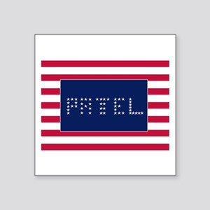 "PATEL Square Sticker 3"" x 3"""